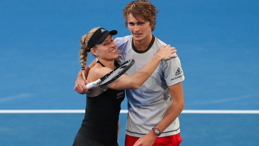 Alexander Zverev, Angelique Kerber share mutual love and respect for each other