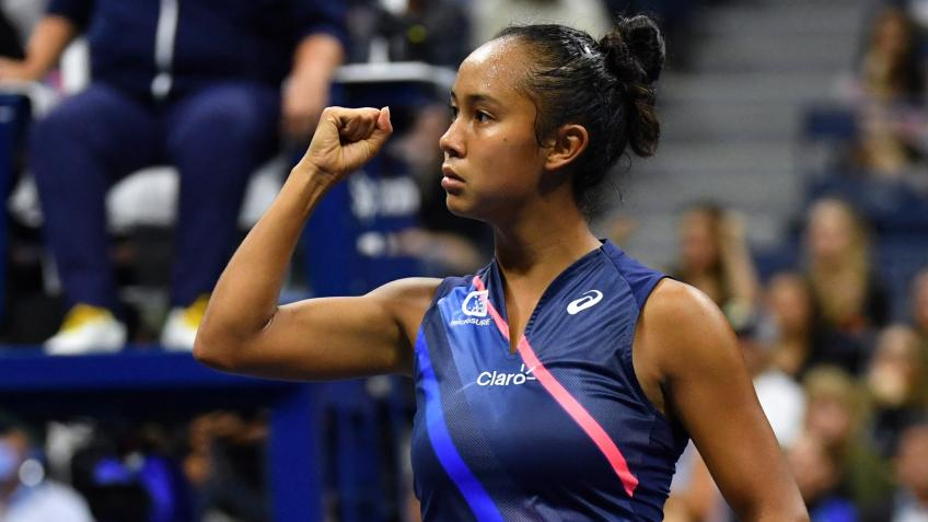 Leylah Fernandez:Teacher told me to quit tennis because she thought I'd never make it