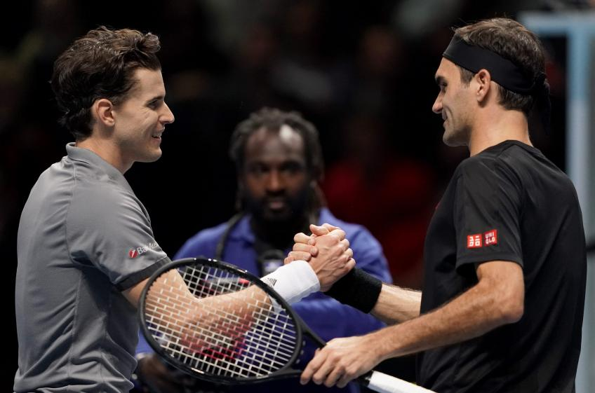 Dominic Thiem: Roger Federer killed me in our first meeting