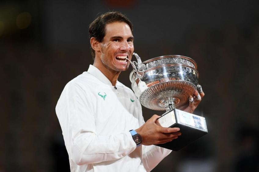 Rafael Nadal: 'I wish to win five more Major titles, but that's not realistic'