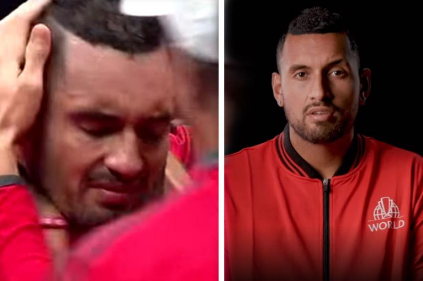 """Kyrgios recalls """"grueling"""" monumental match vs Federer ahead of Laver Cup"""