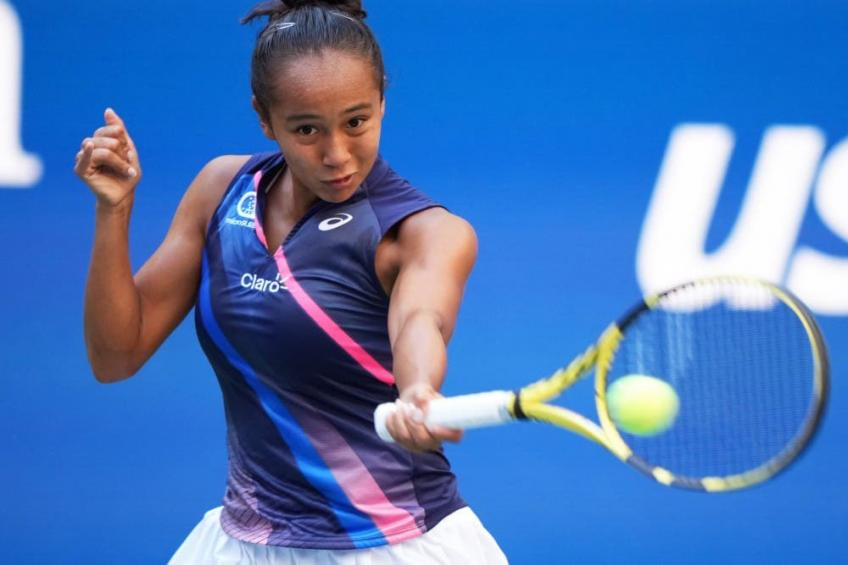 """Leylah Fernandez's father: """"The 2021 goal is to hit the top 10"""""""