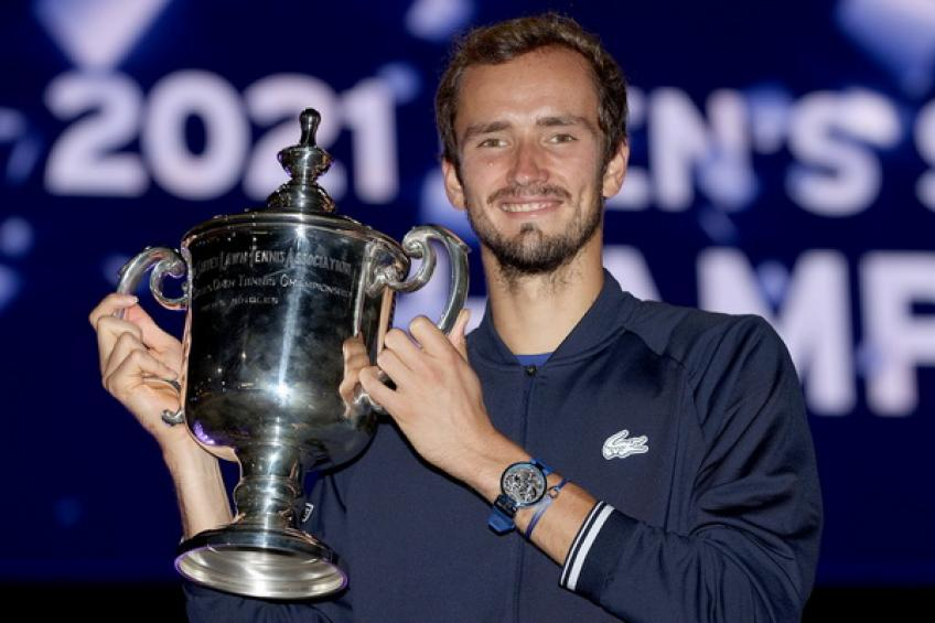 Daniil Medvedev: 'I'm a Major champion after losing two finals to Rafa and Novak'