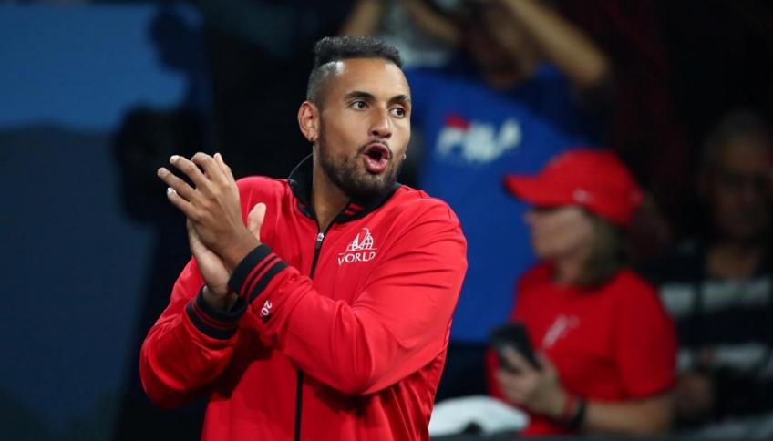 Nick Kyrgios: Boston Celtics players watching will bring added pressure at Laver Cup