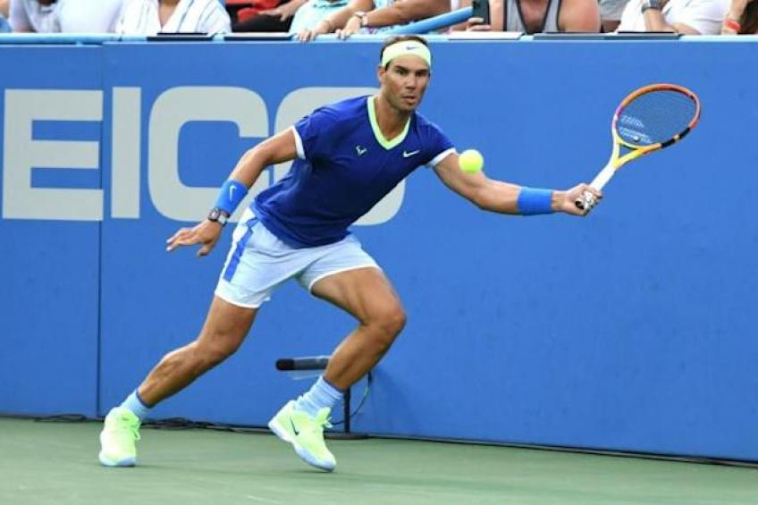'Having Rafael Nadal so close is a great influence', says young ace