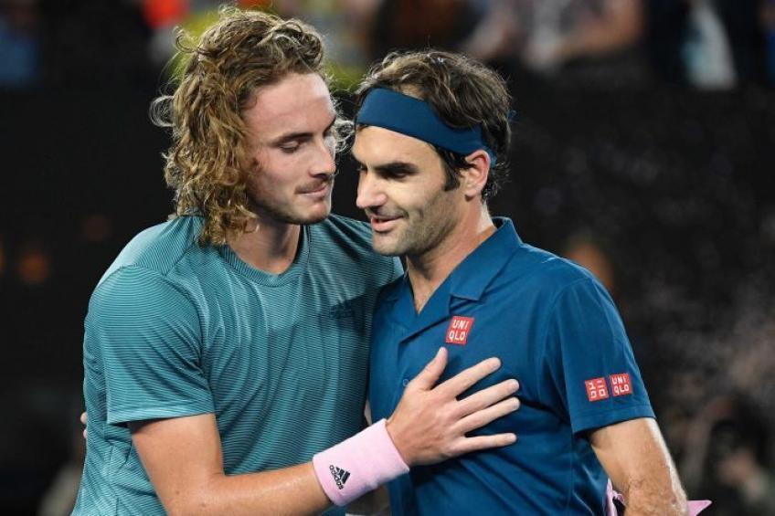 Roger Federer: Stefanos Tsitsipas texted to say that he misses me