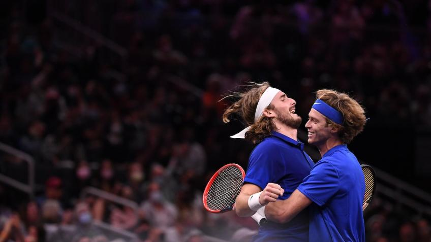 Andrey Rublev: I was trying to let Stefanos Tsitsipas be leader