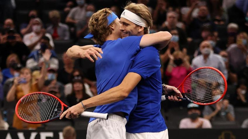 Alexander Zverev: Me, Andrey Rublev won mainly because of me
