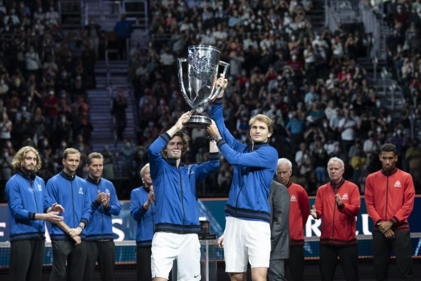 Alexander Zverev 'very much looking forward' to 2022 Laver Cup in London