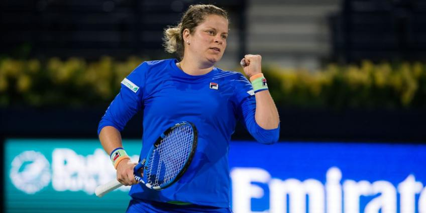 Kim Clijsters: Hitting with some players just triggered challenge within myself