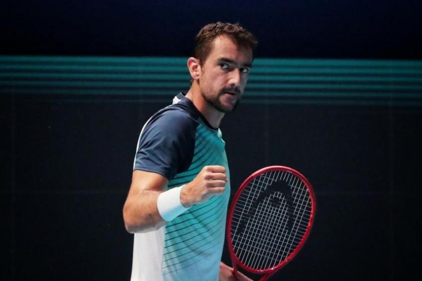 Marin Cilic fires coach after series of bad results