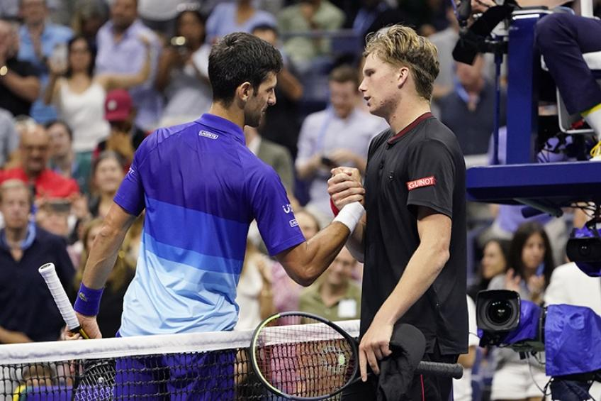Reilly Opelka reveals in which aspect Jenson Brooksby reminds him of Novak Djokovic