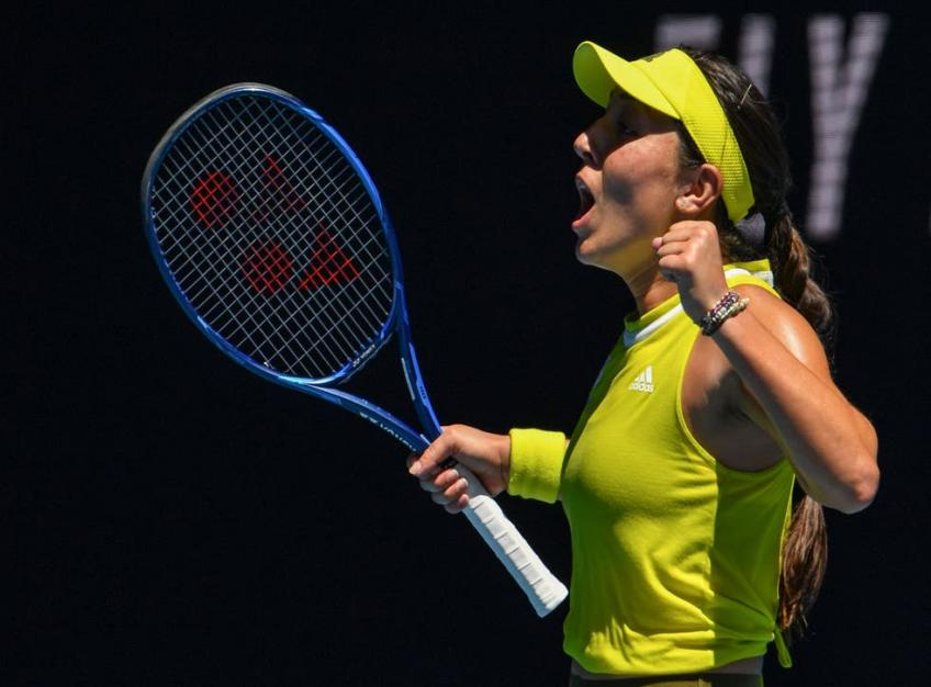 Jessica Pegula reacts to destroying No. 4 seed Elina Svitolina in Indian Wells