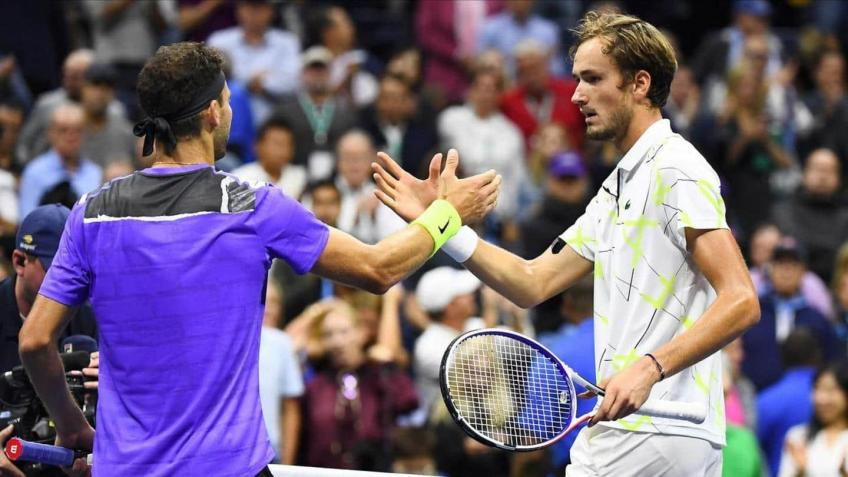 Daniil Medvedev:Grigor Dimitrov played better against me than anybody did at US Open