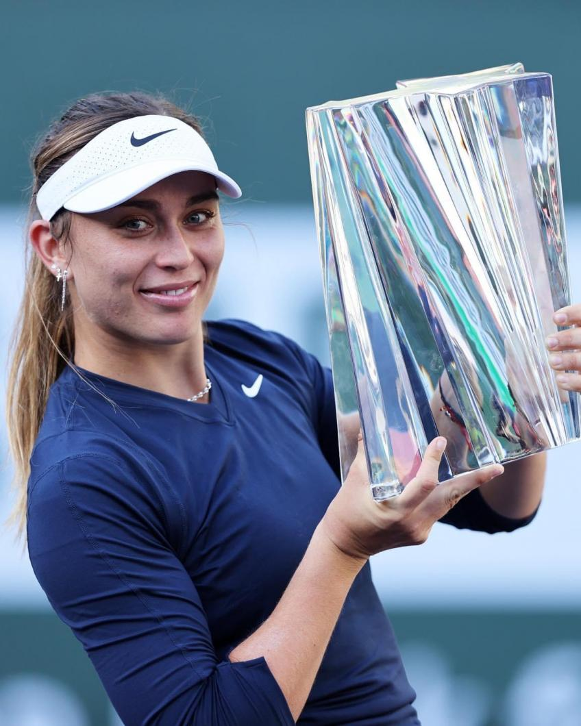 Fairytales came true for Paula Badosa at Indian Wells