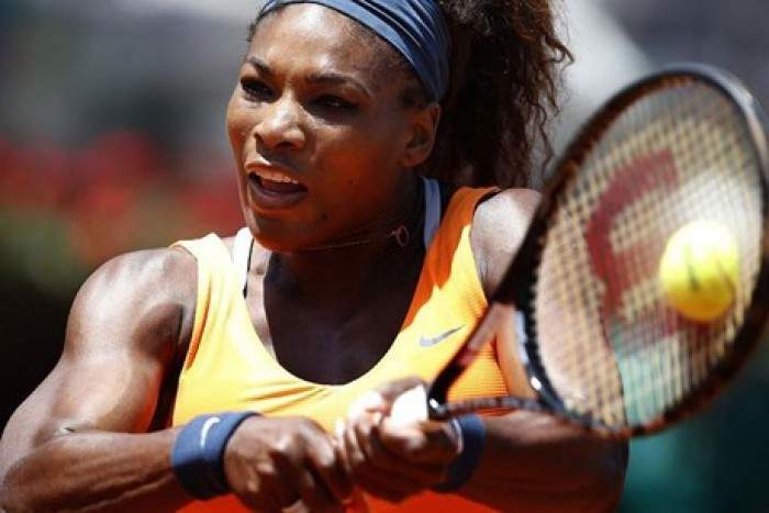 Tennis Live Update Serena Williams Wins The First Set In Rome