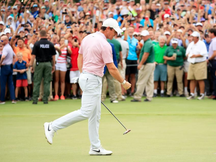 Rory McIlroy, great return to a familiar putter