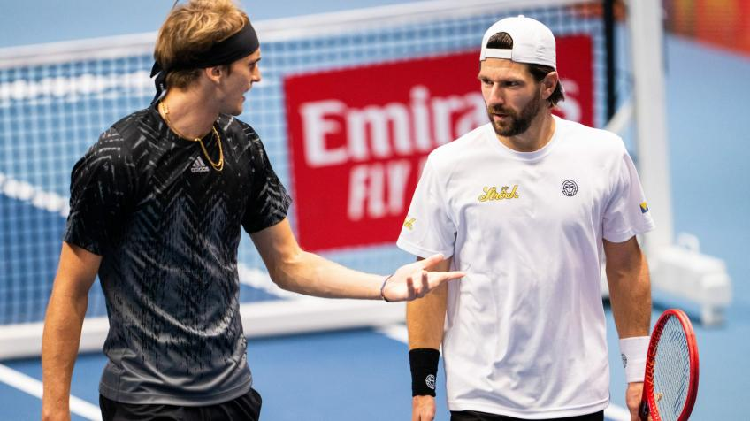 Jurgen Melzer's career comes to end following doubles loss with Alexander Zverev