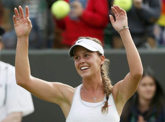 Tennis - Michelle Larcher de Brito credits her parents and family for believing in her through rough patch