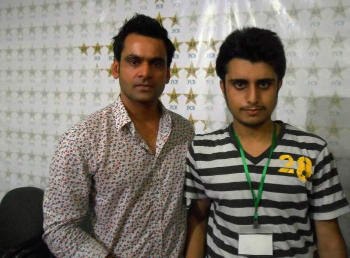 Interview with Mohammad Hafeez