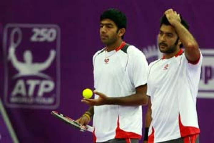 Tennis - Rohan Bopanna and Aisam Ul-Huq Qureshi crash out of Chennai Open doubles