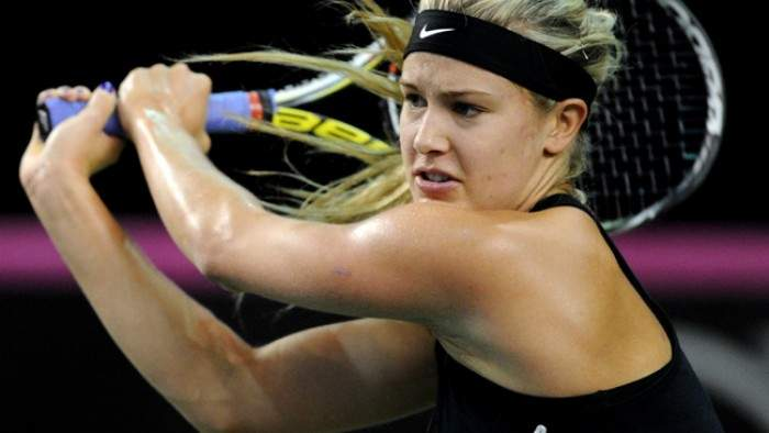 Eugenie Bouchard wins but Samantha Stosur loses in Portugal