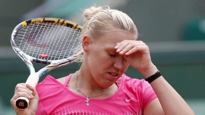 Kaia Kanepi becomes first seeded player to fall in 2014 French Open