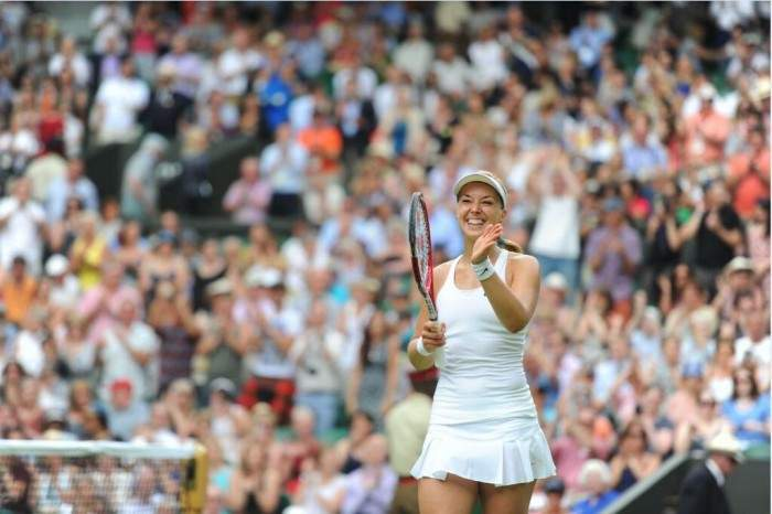 Sabine Lisicki and Agnieszka Radwanska storm into the second round of Wimbledon