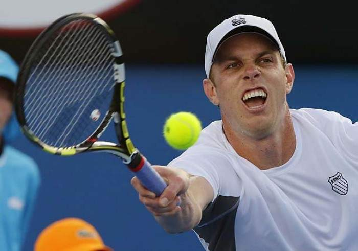 Sam Querrey lone American to move on in day 1 in Atlanta