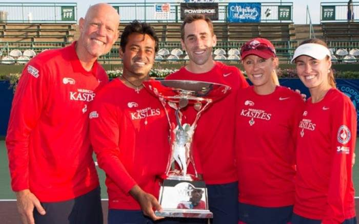 Martina Hingis named MVP as Washington Kastles win World Team Tennis for fourth year in a row