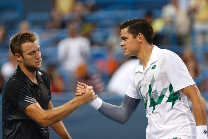 Home favourite Milos Raonic stretched to the wire by Jack Sock in Toronto