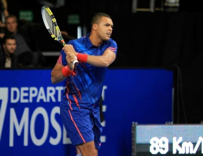 Top seed Jo-Wilfried Tsonga reaches the Quarterfinals in Metz
