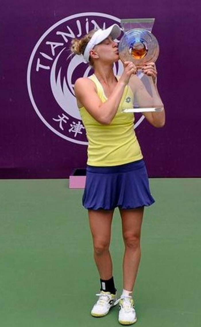 Alison Riske wins her first WTA title by denying Belinda Bencic in Tianjin