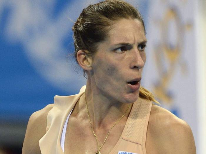 Andrea Petkovic is in no hurry for another coach