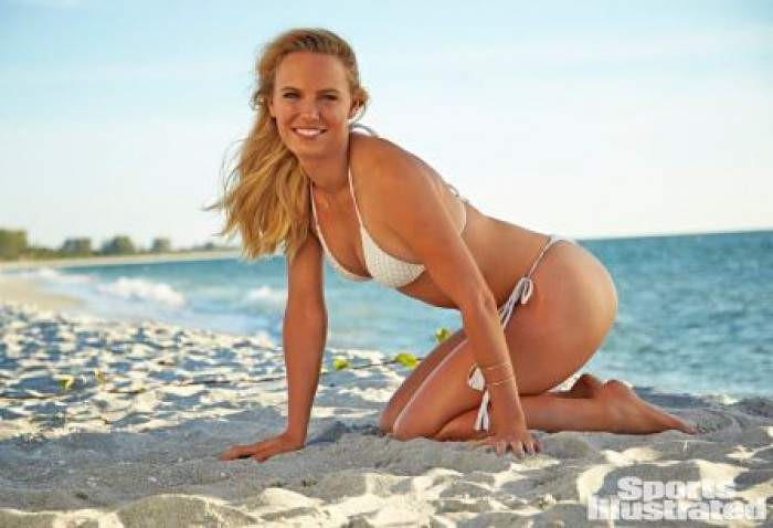 Caroline Wozniacki Sexy for Sports Illustrated Swimsuit Issue