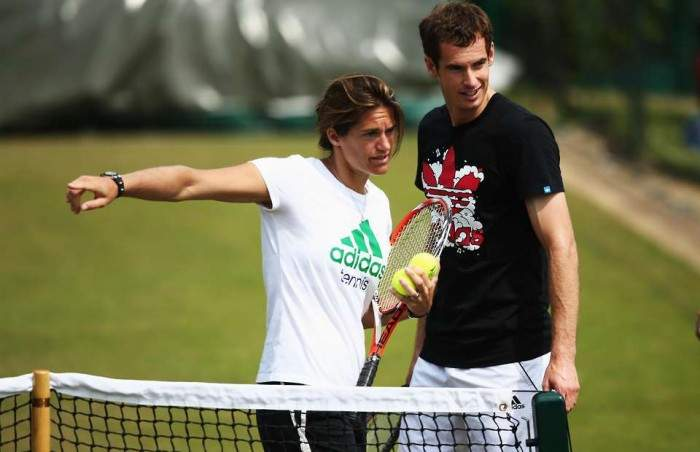 Amelie Mauresmo insists she is not reliving her past through Andy Murray