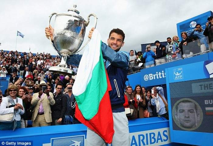 Grigor Dimitrov: ´Every time I Step on Grass, I have a Special Feeling´