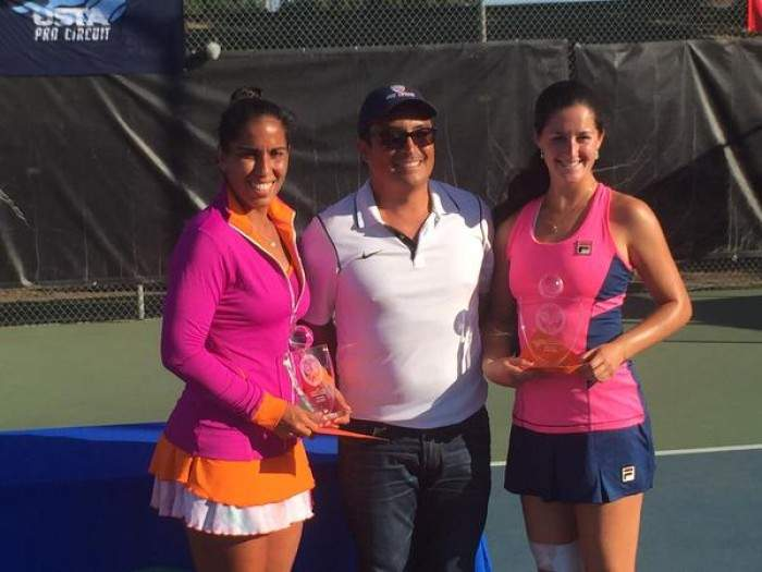 AMERICANS LOEB AND MARAND TAKE DOUBLES TITLE AT STOCKTON CHALLENGER