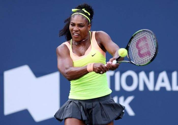 Serena Williams Survives Slow Start to Beat Pennetta in Toronto Debut!