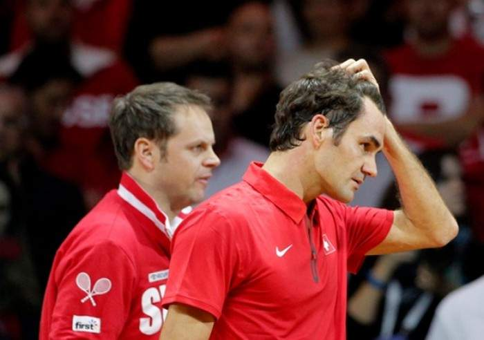 Davis Cup World Group Play-off: The Swiss Falter as the Dutch Claim Doubles Win