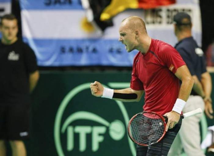 Steve Darcis Clinches A dream Victory For Belgium