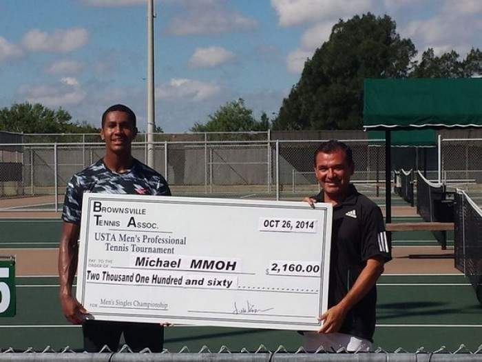Michael Mmoh clinches third Futures title without losing a set in Houston