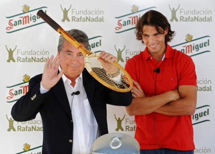 Manolo Santana: ´Those who have criticized Nadal are now silent. In 2016 he will win a Grand Slam´