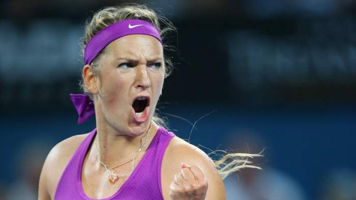 What does Victoria Azarenka do when no one is watching? (PIC INSIDE)