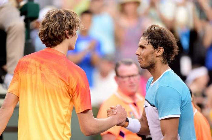 Nadal: ´I feel sorry for him but I deserved to win.´ Zverev: ´I missed the easiest shot on match point.´