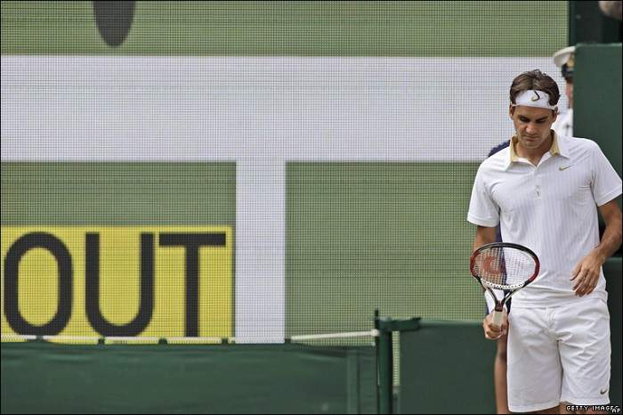 Most Successful Players using Hawk-Eye: Roger Federer isn´t Bad! Djokovic and Nadal...