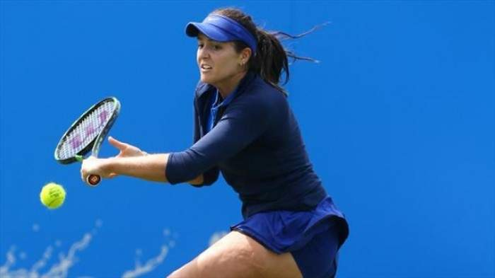 Laura Robson expects to be fit for Wimbledon despite injury scare