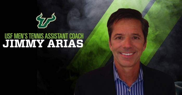 Jimmy Arias Appointed As Assistant Coach