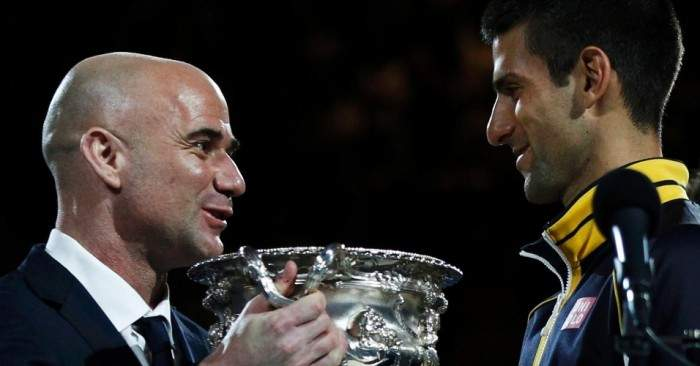 Djokovic Hires Agassi Andre-agassi-retirement-is-like-preparing-for-death-djokovic-he-should-win-all-the-time-