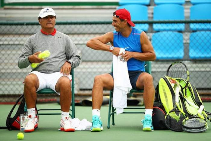 Toni Nadal: 'We are Training Well in New York'
